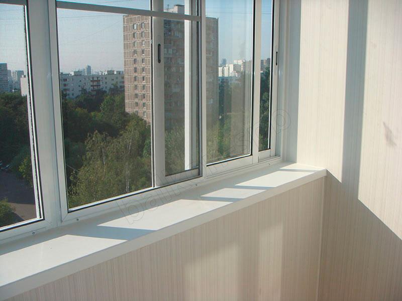Бюджетные раздвижные окна для балкона цена..