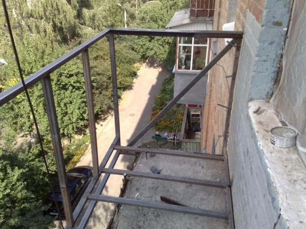 Как сделать балкон своими руками в хрущевке