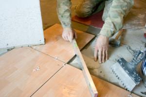 Укладка плитки на цемент