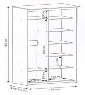 Как сделать шкаф купе своими руками из старого шкафа