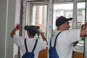 Монтаж пластиковых окон на балконе