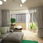 Балкон и спальня объединение