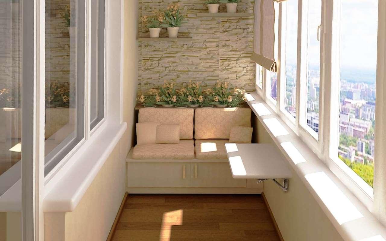 Ремонт балкона своими руками панельный дом