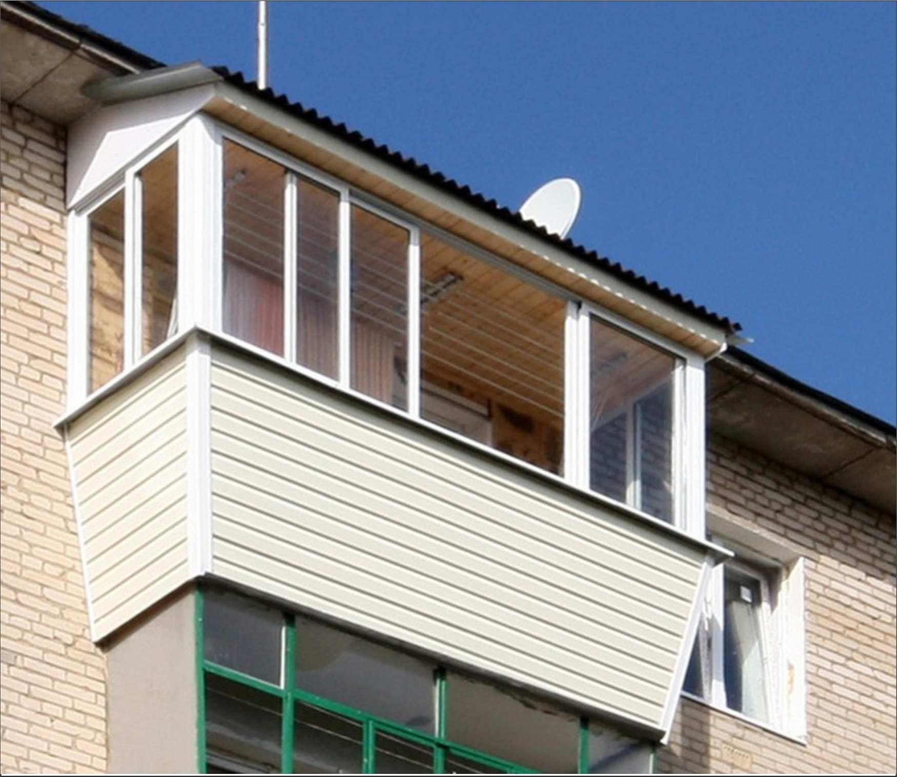 Как сделать крышу балкона последнего этажа своими руками 726