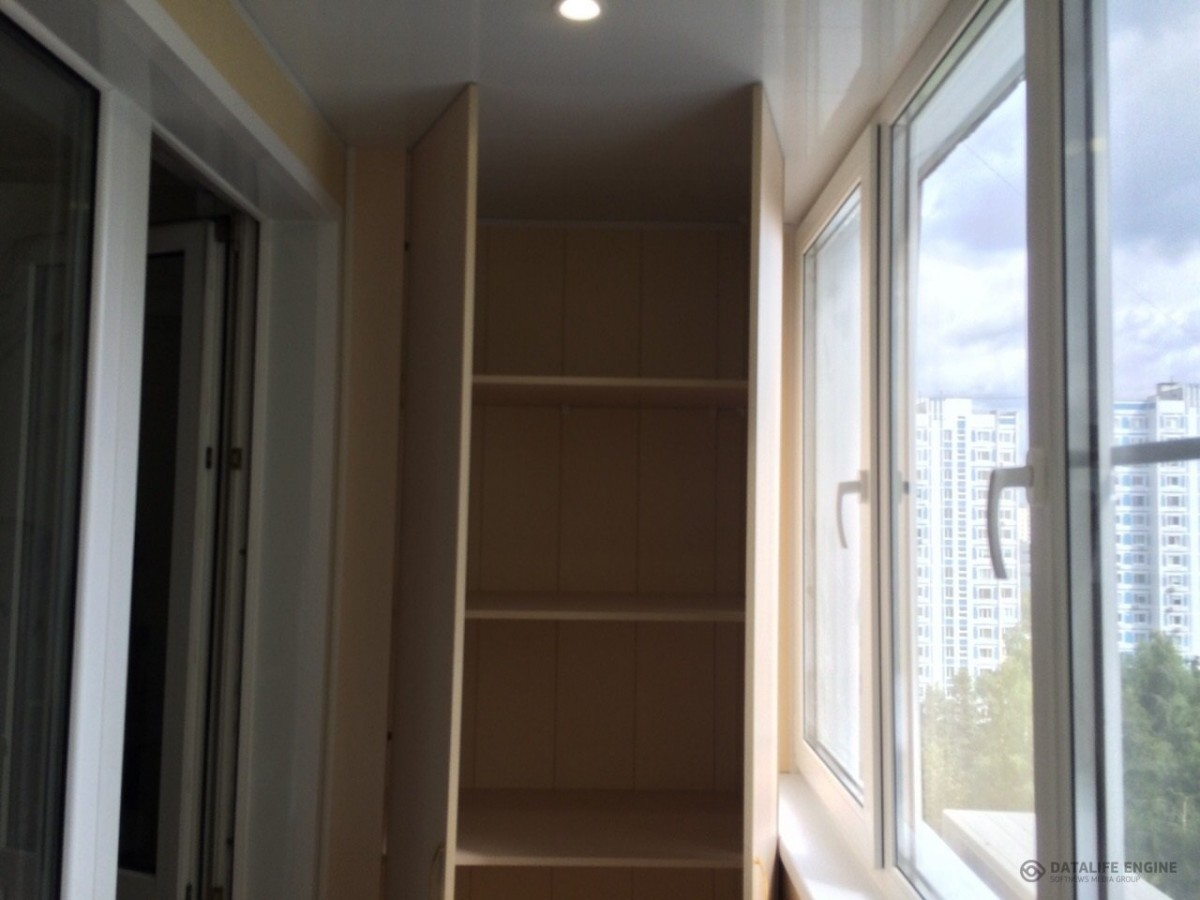 Варианты шкафов для балкона, которые можно сделать своими ру.
