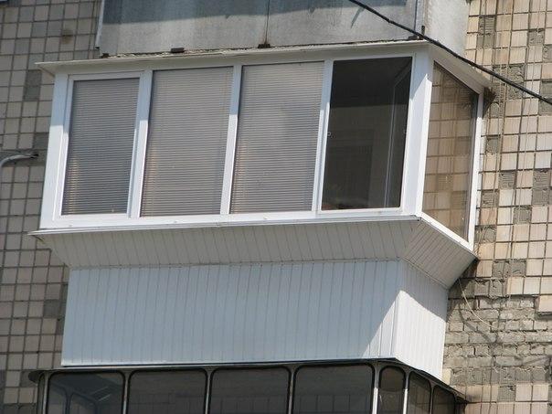 Теплое остекление балконов и лоджий.