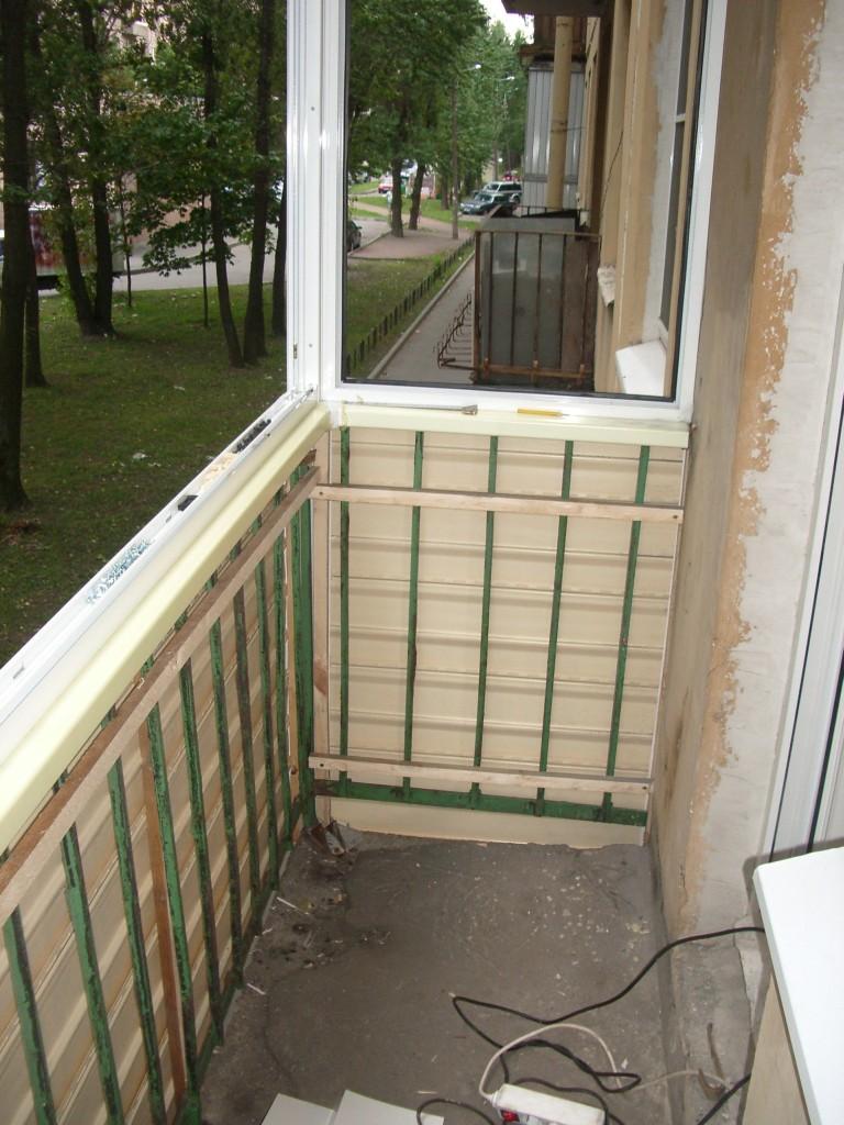 Как сделать ремонт на балконе своими руками.