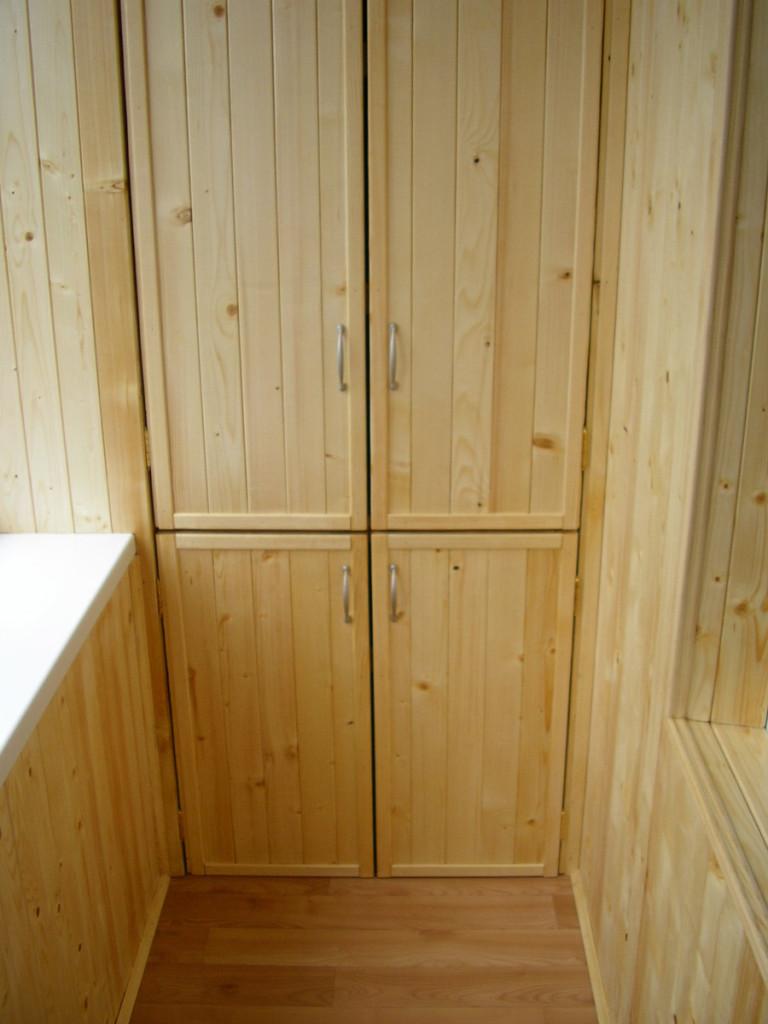 Двери шкафа из вагонки своими руками